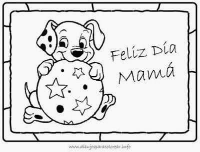 dibujos para el dia de la madre para colorear dia madre marco 02 thumb