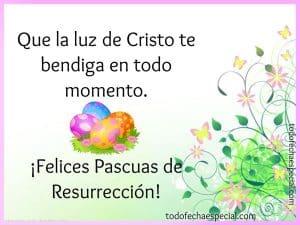 felices pascuas resurreccion