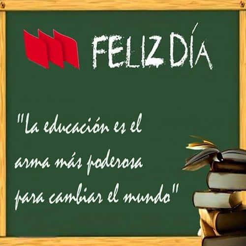 feliz día del maestro educacion