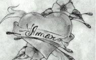 imagenes amor chidas corazon flores