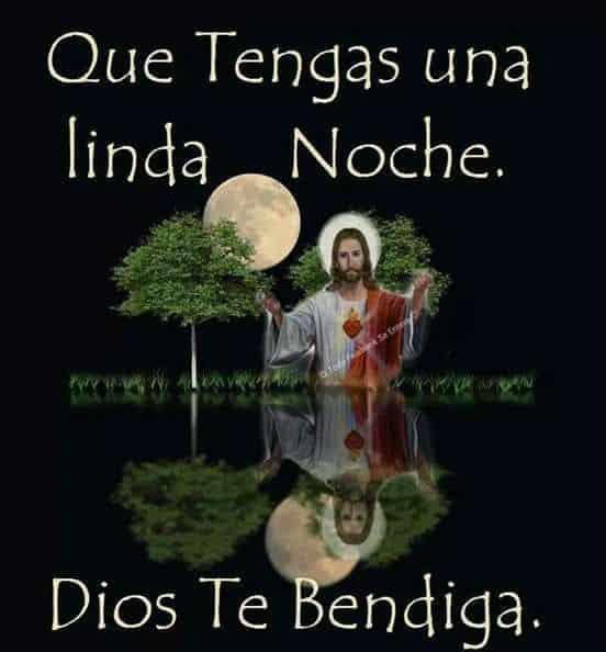 linda noche dios te bendiga