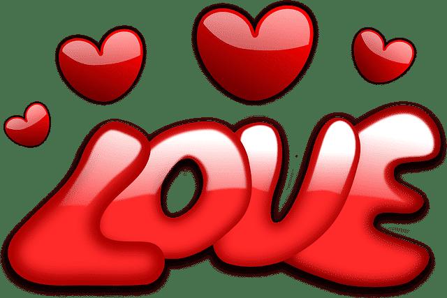 palabras de amor en ingles
