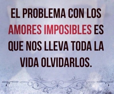 palabras frases amores imposibles