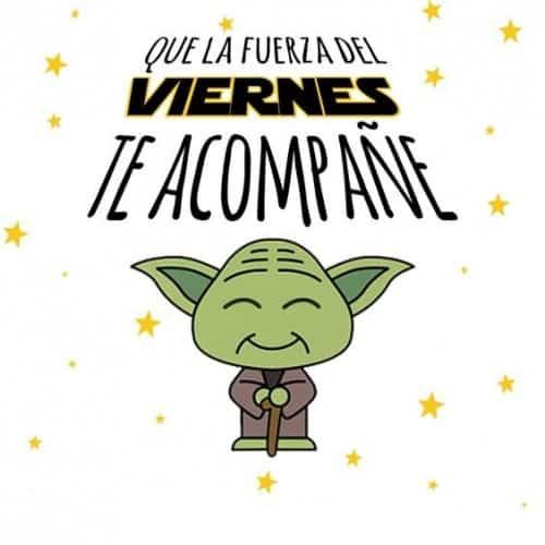 tarjeta para desear feliz viernes