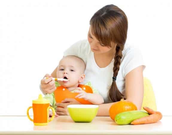 primera comida bebes