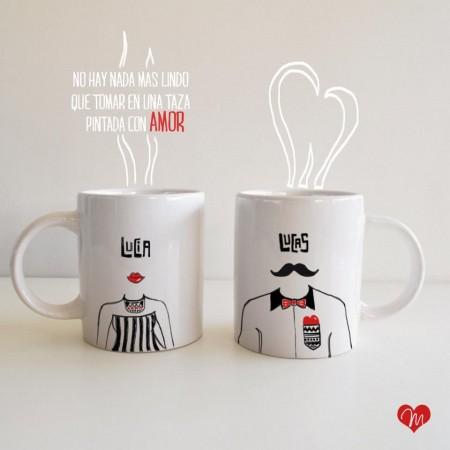 tazas para san valentin