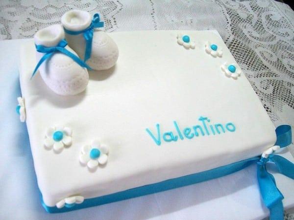 torta bautismo fotos
