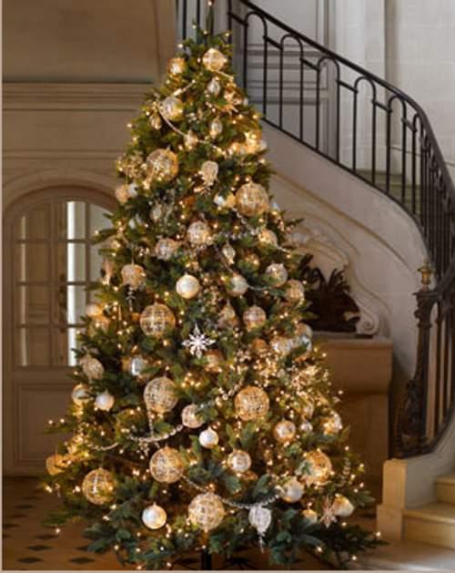 ábol de navidad decorado