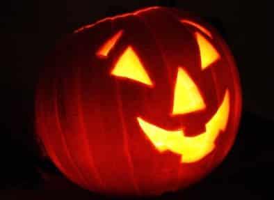 Calabazas halloween happy