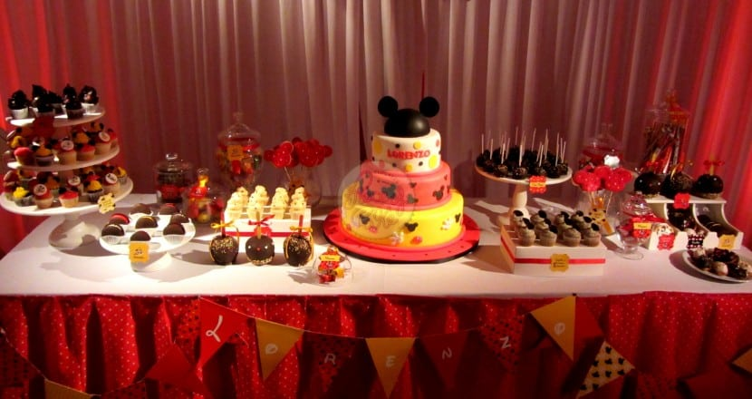 Decoraciones Fiesta Mickey