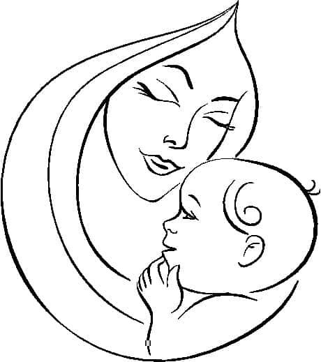 Dibujos-para-colorear-del-dia-de-la-madre-8