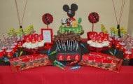 Mickey Minnie Parties, De Mickey