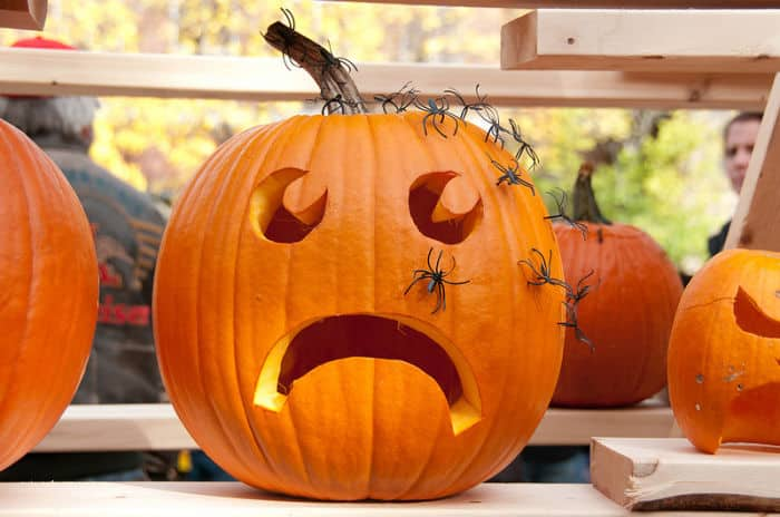 adorno calabaza halloween