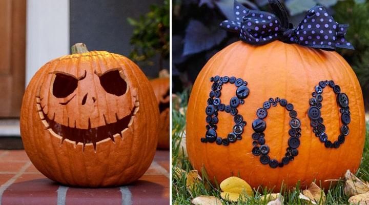 calabazas para decorar halloween