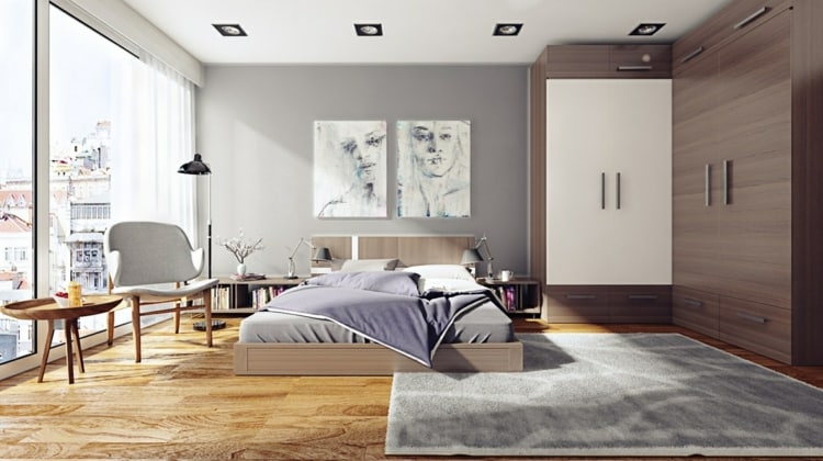 como decorar tu habitacion grises