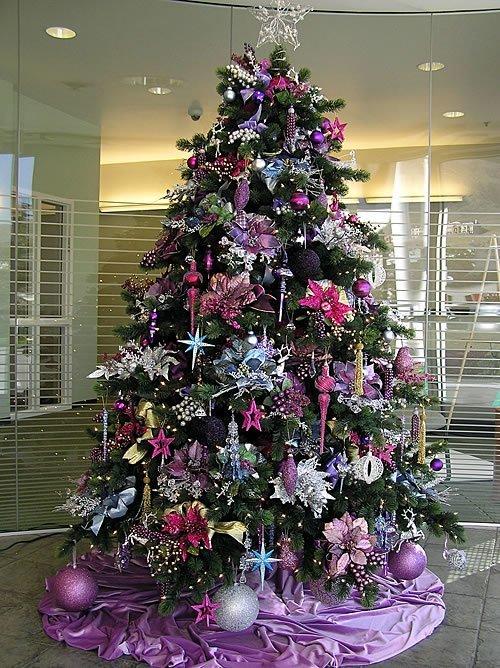 Diferentes formas de decorar un arbol de navidad