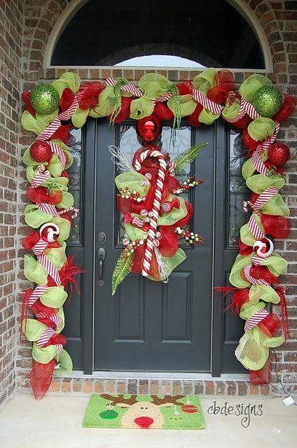 decoracion-de-navidad-para-puertas-de-colegios