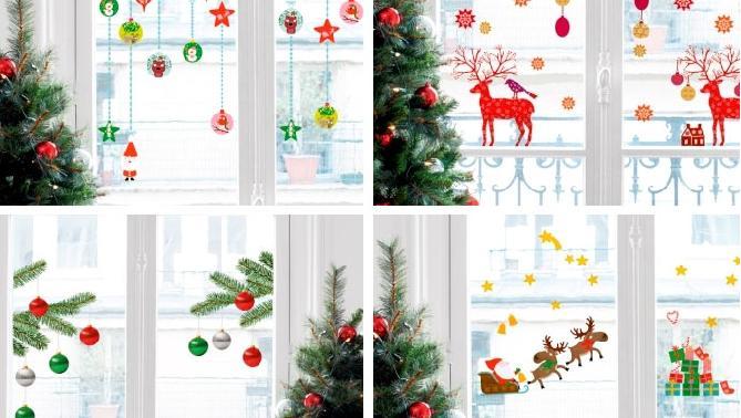 decoracion-navidad-ventanas
