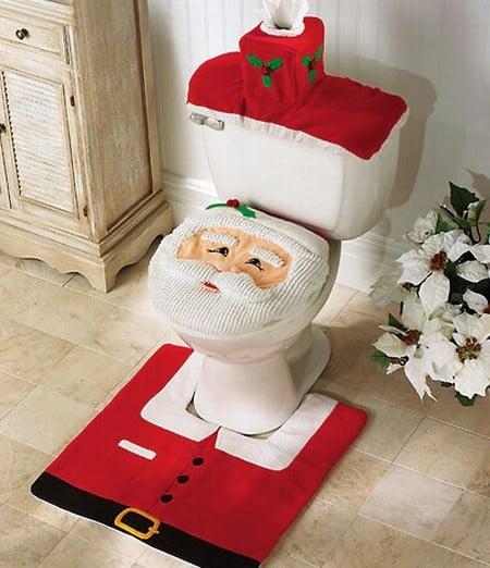 decoracion-navidena-para-el-bano-santa-claus