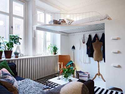 decorar dormitorio habitacion pequeña 11