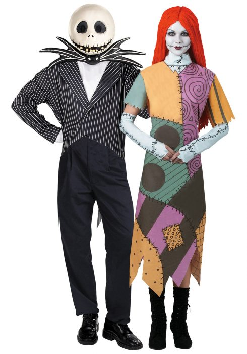 disfraces originales para parejas tin burton