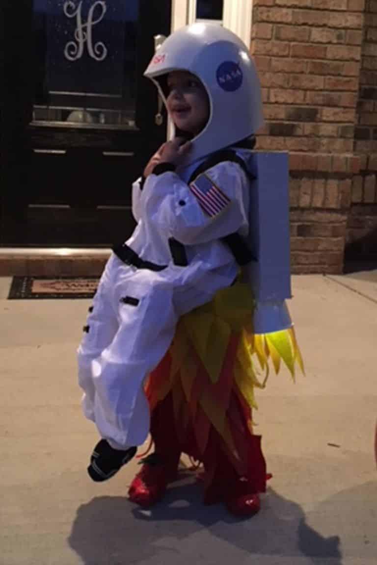 disfraz de astronauta para ninos