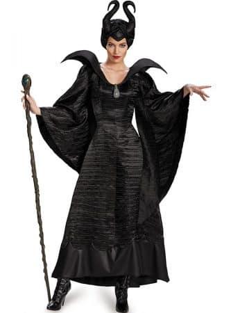 disfraz de malefica deluxe para mujer