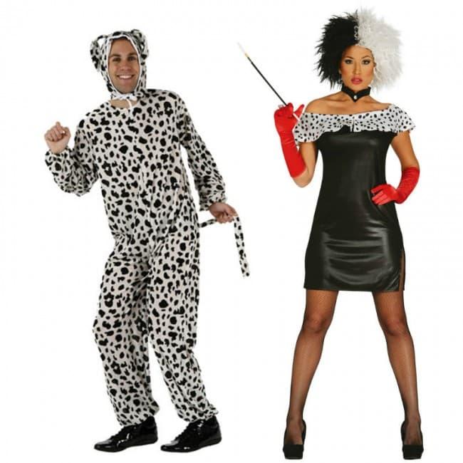 disfraz para parejas de dalmatas