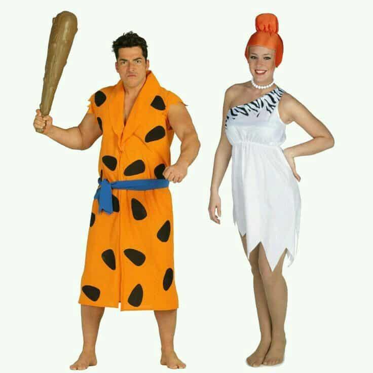 disfraz para parejas de picapiedras