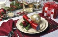 flores para decorar una mesa de navidad 5