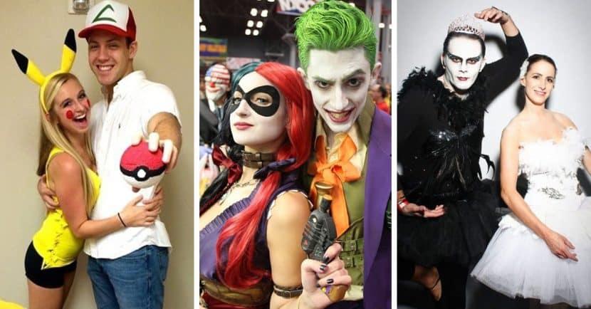 fotos disfraces de halloween en pareja
