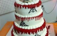 tortas de halloween para bodas