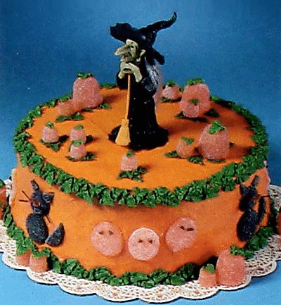 tortas infantiles halloween terror