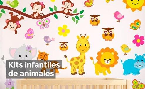 vinilos-infantiles-animales-kits