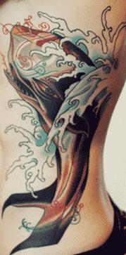 37 tatuajes muy sensuales en las costillas 16 e1507557972860