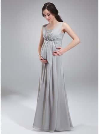 Imagenes vestidos de noche para embarazadas