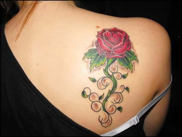 Compilación de Tatuajes de Rosas