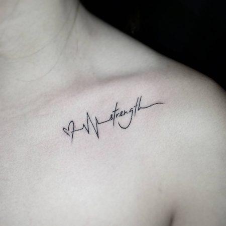 Tatuajes en la clavicula 3