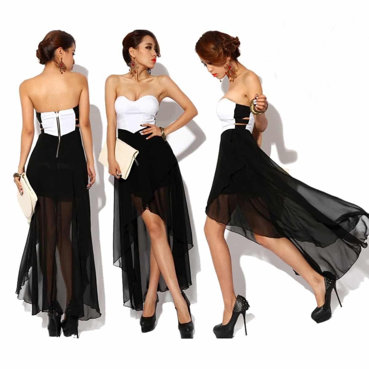 Vestidos para noche de gala cortos