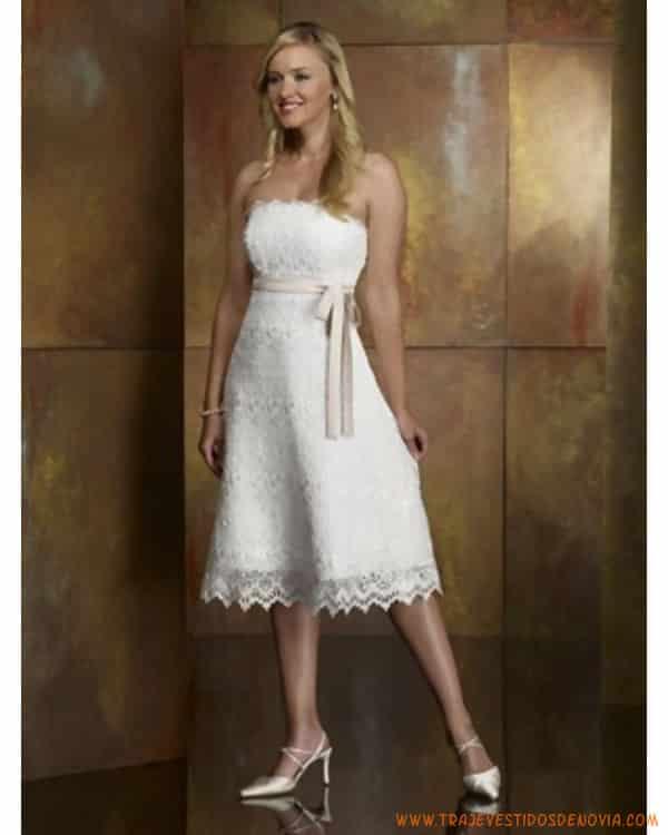 Vestidos de novia civil del encaje