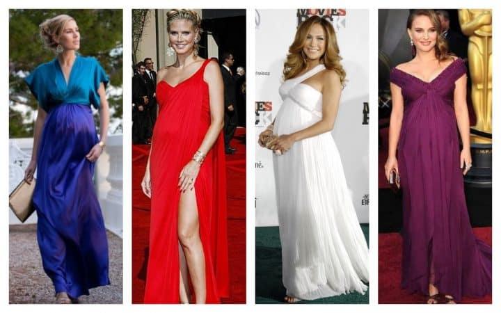 fotos vestidos fiestas embarazadas