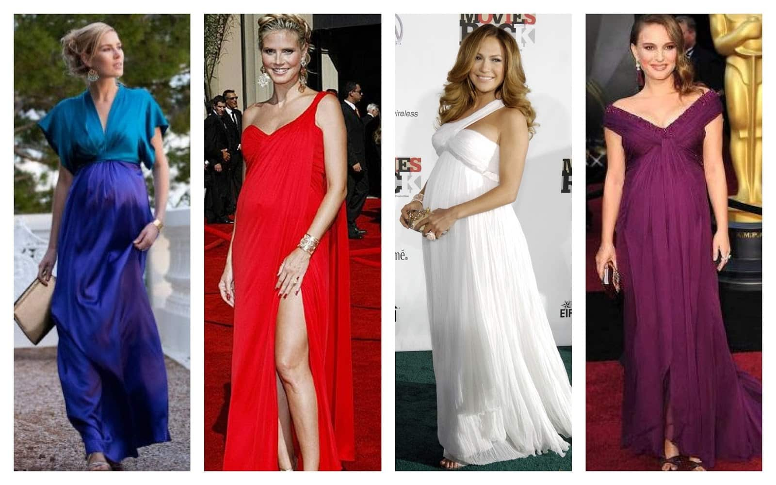 Vestidos para bodas para mujeres embarazadas
