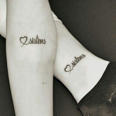 hermanas tatuaje
