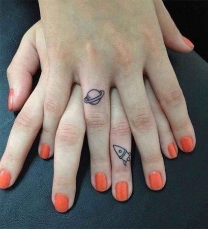 ideas tatuajes para hermanas