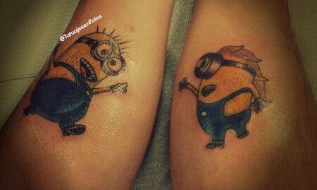 minions-brazos-tatuaje