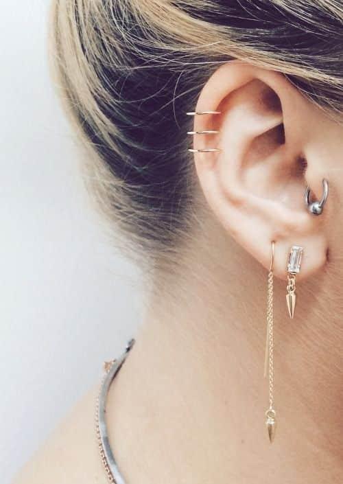 piercing oreja cartilago