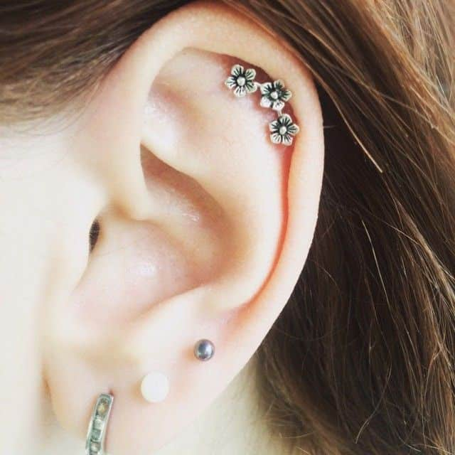 piercing para la oreja