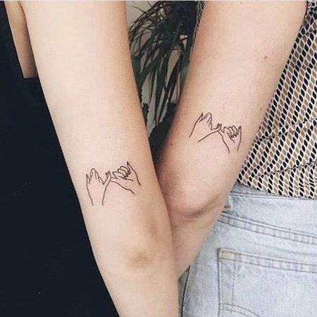tattoo amigas hermandad