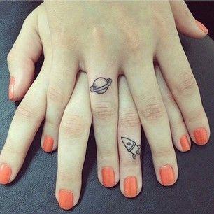 tattoo de amigas