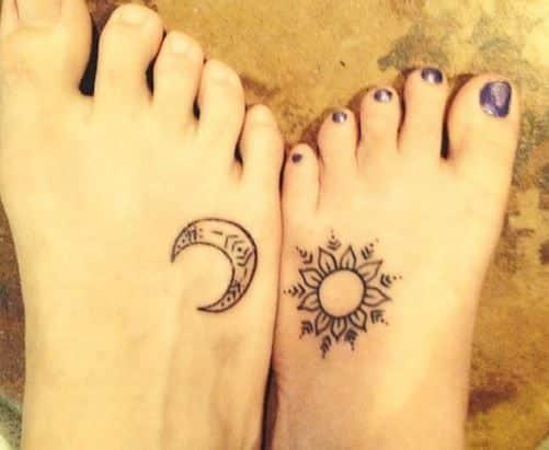 tattoo de amigos